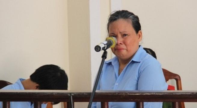 Người phụ nữ đi theo vết xe đổ của chồng con... vào tù