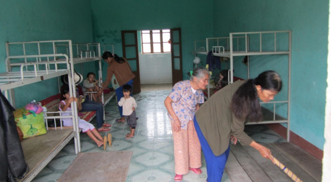 Hơn 65.000 người dân Đà Nẵng đã đi tránh siêu bão Haiyan
