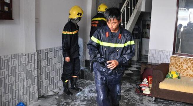 Nhà cháy trong lúc chủ đi vắng