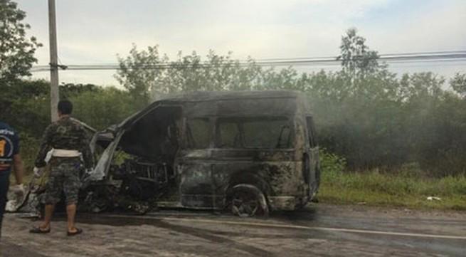 Tài xế ngủ gật khiến 13 người Việt tử nạn tại Thái Lan