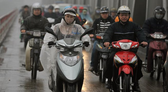 Miền Bắc tiếp tục mưa, lạnh đến cuối tháng