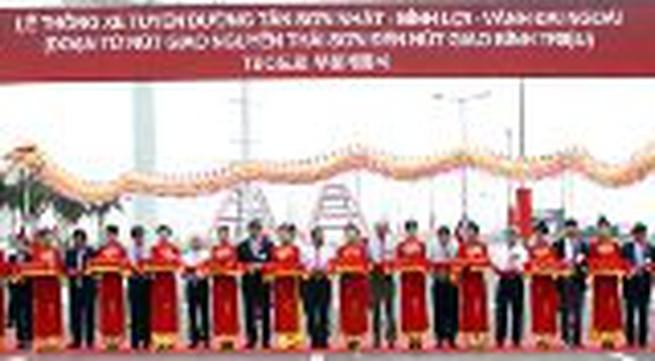 TP HCM: Thông xe đại lộ Phạm Văn Đồng