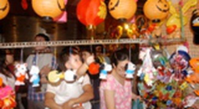 TP HCM: Rộn ràng các chương trình vui Trung thu