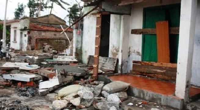 Quảng Bình: 15 người thương vong do sập nhà