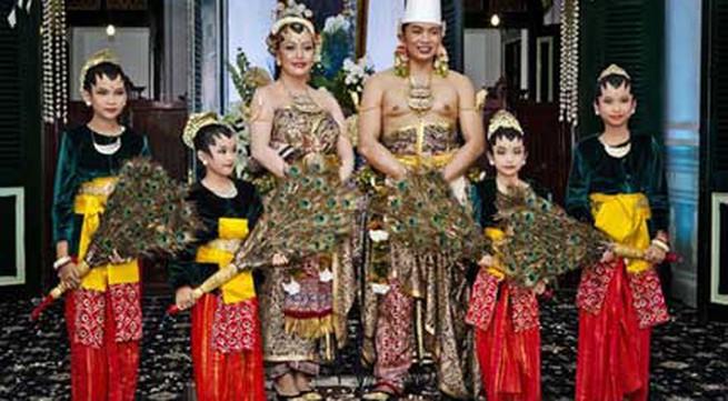 Đám cưới lộng lẫy của công chúa Indonesia