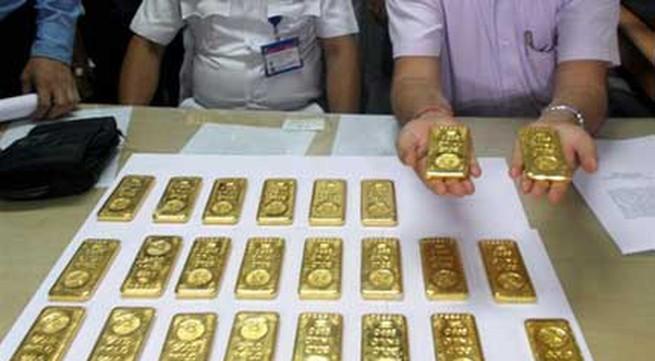 Phát hiện 24 thỏi vàng trong toilet máy bay