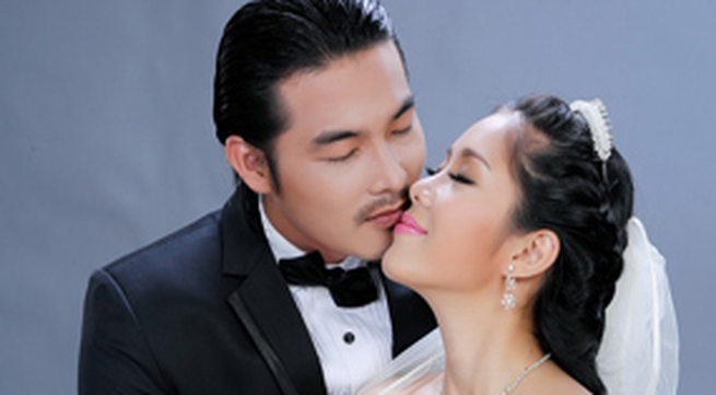 Ảnh cưới nồng nàn của Quách Ngọc Ngoan - Lê Phương