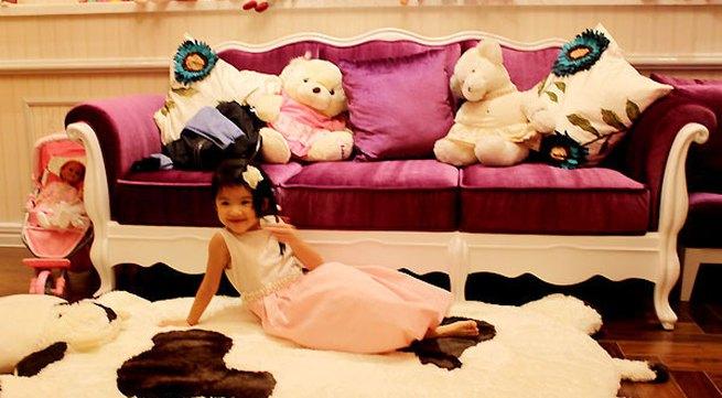 Phòng ngủ của tiểu thư nhà Trương Ngọc Ánh