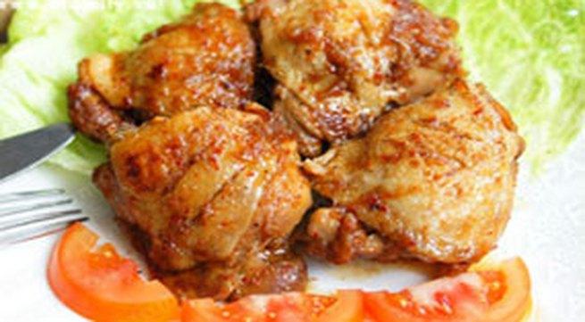 Làm gà rô ti mềm ngon