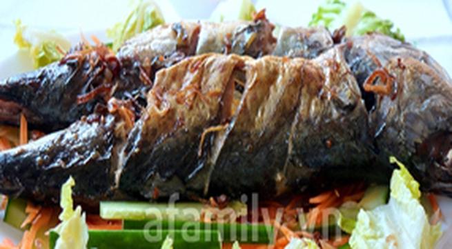 Đổi món hằng ngày với cá nướng mỡ hành