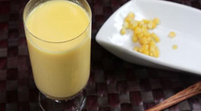Cách đơn giản để làm sữa ngô thơm ngon