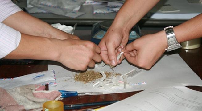 Ổ nhóm buôn bán ma túy lớn sa lưới