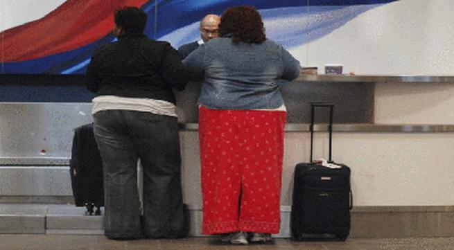 Thiết kế ghế máy bay cho hành khách béo phì