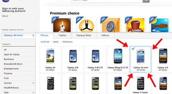 Galaxy S4 Mini lộ diện