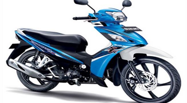 Suzuki trình làng xe số mới giá dưới 25 triệu