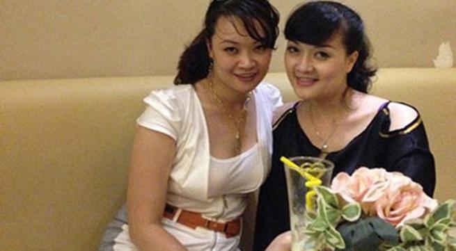 Chị gái Vân Dung lần đầu lộ diện