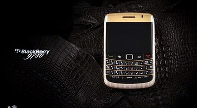 """Chiêm ngưỡng """"dế"""" BlackBerry giá 1 tỷ đồng"""