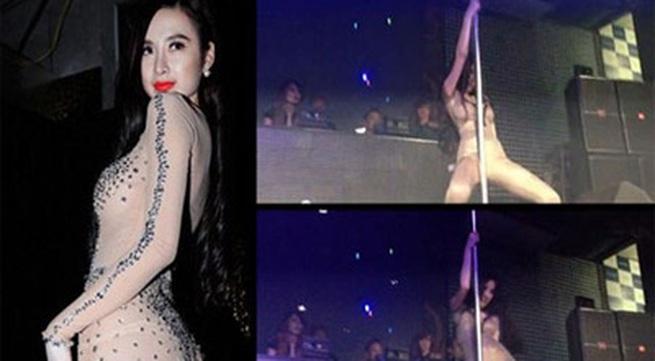 Phớt lờ ''lệnh cấm'', Angela Phương Trinh tiếp tục múa cột phản cảm
