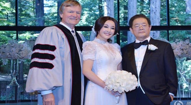 63 tuổi, Lưu Hiểu Khánh kết hôn lần thứ 4 với đại gia 71 tuổi