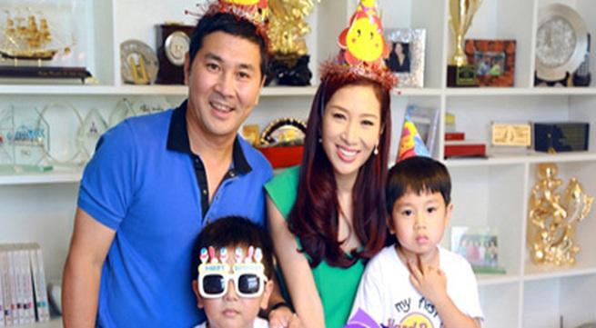 Tổ ấm hạnh phúc của vợ chồng Á hậu Thu Hương