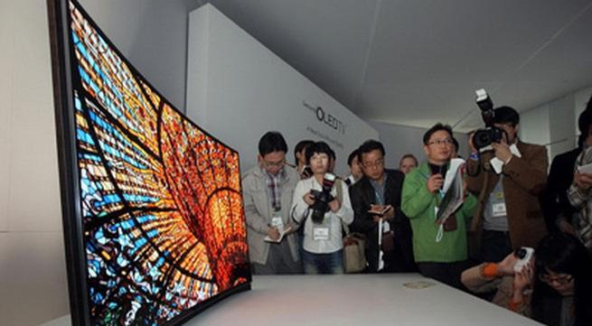 Samsung sẽ trình làng điện thoại màn hình cong