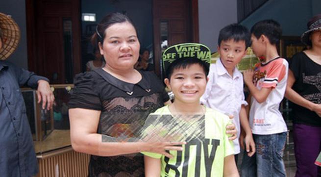 Căn nhà đơn sơ của Quang Anh The Voice Kids