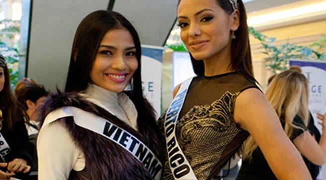 """Miss Universe 2013: Trương Thị May đang bị """"dìm hàng""""?"""