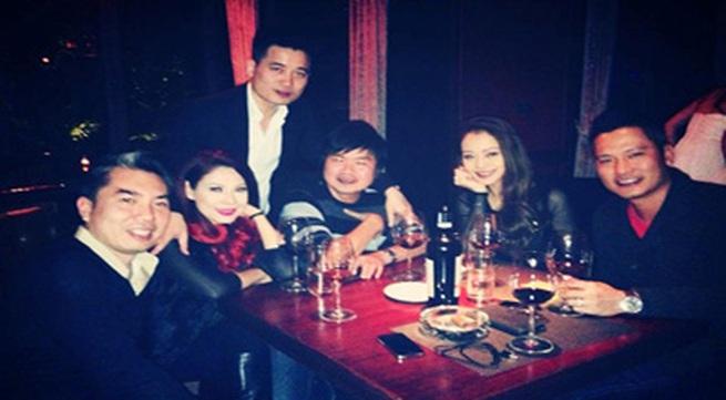 Thanh Thảo và vợ chồng Jennifer Phạm rủ nhau đi bar