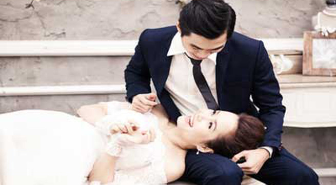 Đoàn Thúy Trang kết hôn với nhạc sĩ 'Tình yêu màu nắng'