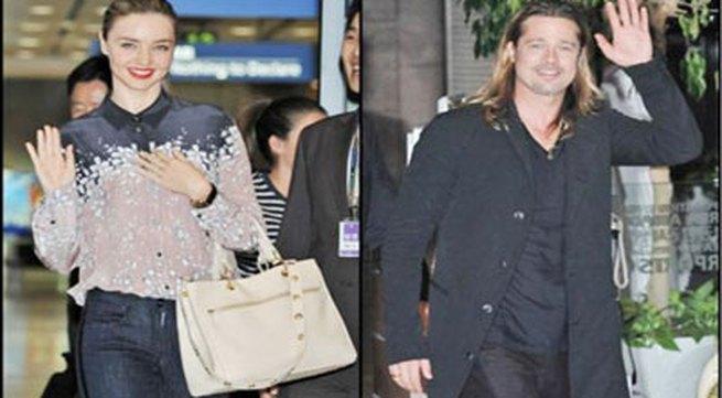 """Siêu mẫu Miranda Kerr phủ nhận tin """"cặp kè"""" với người tình của Angelina Jolie"""