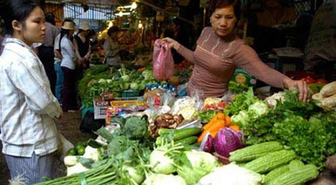Kinh hoàng các loại rau xanh chứa hóa chất độc hại