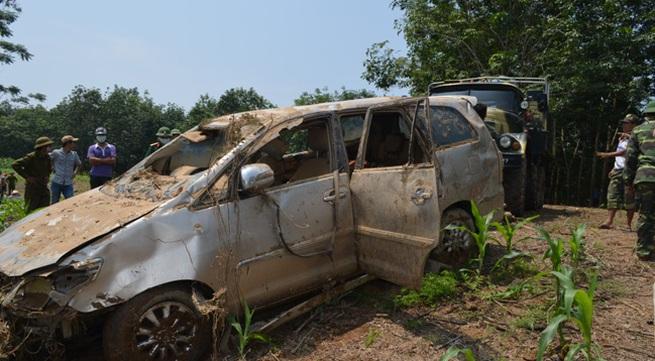 Vụ xe 7 chỗ bị lũ cuốn ở Nghĩa Đàn - Nghệ An: Tìm thấy nạn nhân cuối cùng