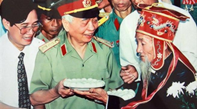 Ký ức hơn 2000 ngày làm phim tài liệu về tướng Giáp