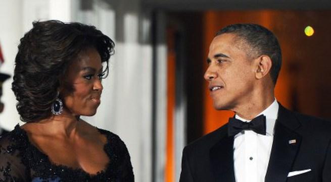 Lộng lẫy Michelle Obama tại quốc yến