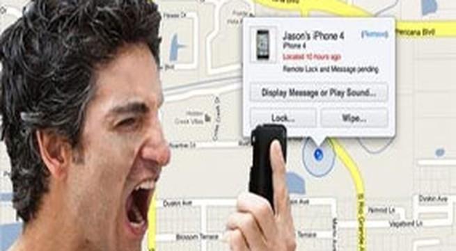 Bi hài chuyện rình vợ cặp bồ bằng iPhone
