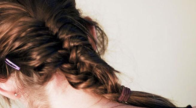 6 bước tết tóc đuôi cá dễ thương kiểu Pháp
