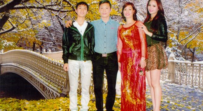Hoa khôi Lại Hương Thảo và ông bố nghiêm khắc