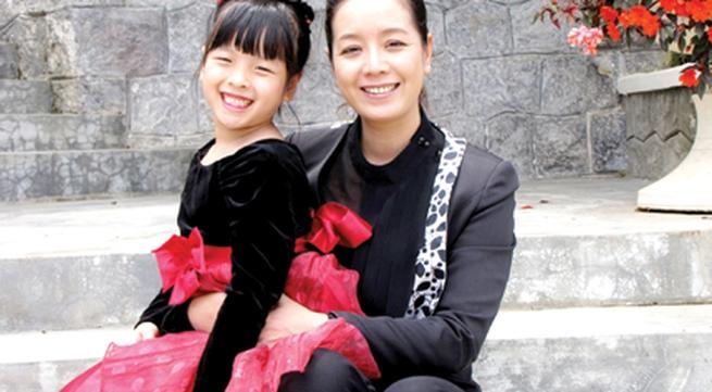Diễn viên Chiều Xuân: Không quá lo khi con nổi tiếng sớm