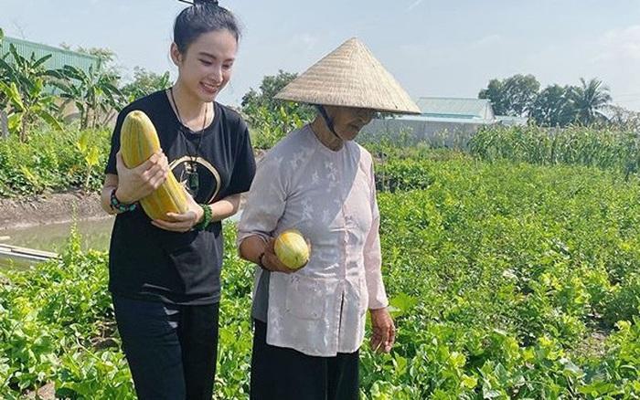 Angela Phương Trinh về quê, vào bếp nấu ăn - xs thứ tư
