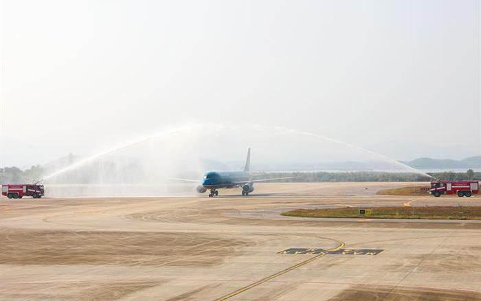 Sân bay Vân Đồn, Quảng Ninh đón chuyến bay đầu tiên đến từ Nhật Bản
