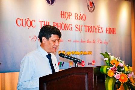 """Cuộc thi phóng sự truyền hình """"Y tế Việt Nam – 60 năm làm theo lời Bác dạy 1"""
