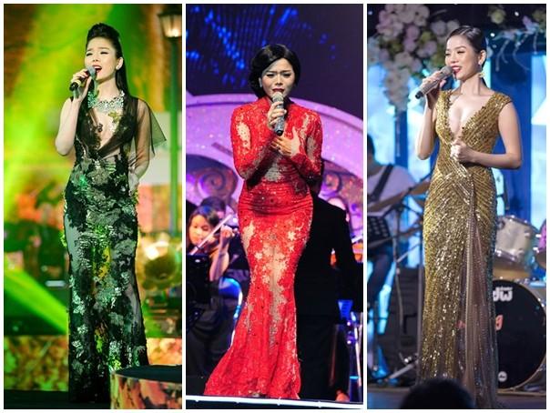 Ba nữ hoàng xuyên thấu gợi cảm bậc nhất năm 2014