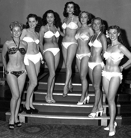 Cuộc thi HHTG có xuất phát điểm từ một buổi trình diễn bikini trên ngoài trời