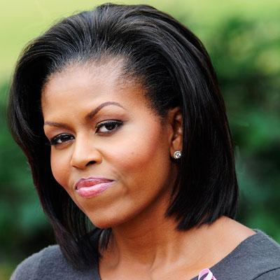 Michelle Obama-Hair-Johnny Wright