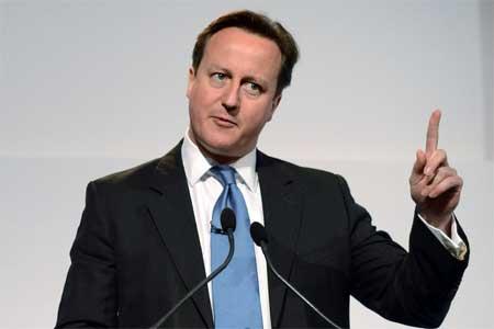 Thủ tướng, Anh, nghẹn cháo, bình luận , tivi