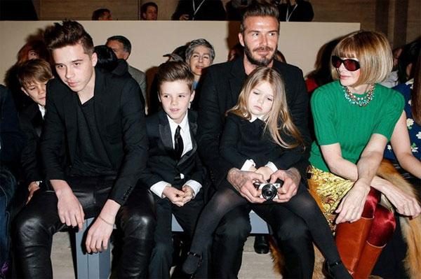 Vợ chồng Becks tôn trọng các con trong việc lựa chọn trang phục, chỉ đưa ra góp ý khi cần thiết.