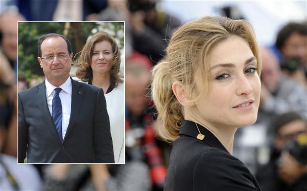 """Báo Pháp hé lộ """"chuyện tình"""" của Tổng thống Hollande với diễn viên 1"""