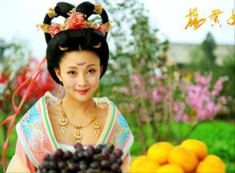 Tạo hình Dương Quý Phi trong phim cổ trang.
