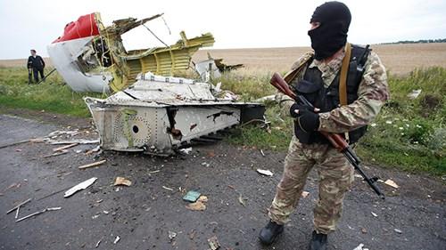 Hiện trường thảm kịch MH17.