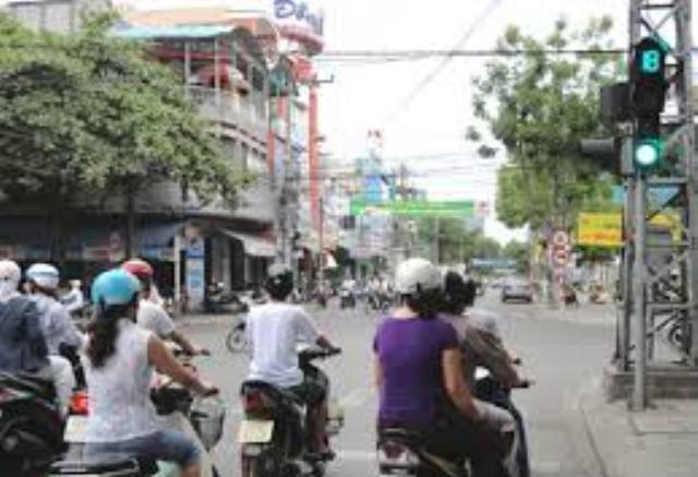 Khu vực Ông Ích Khiêm - Trần Cao Vân nơi mà hai nhóm thanh niên định quyết chiến sau khi mâu thuẫn nhau trên Facebook